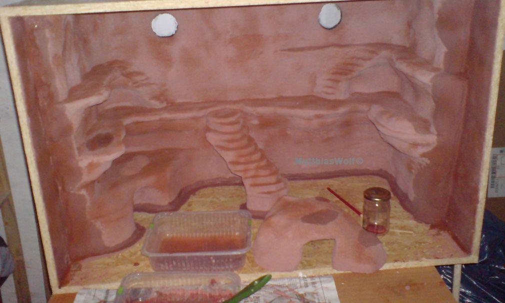 Geckoterrarien die sch nsten terrarien - Terrarium ruckwand selber bauen ...